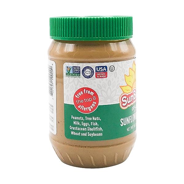 Organic Sunflower Butter, 16 oz 3