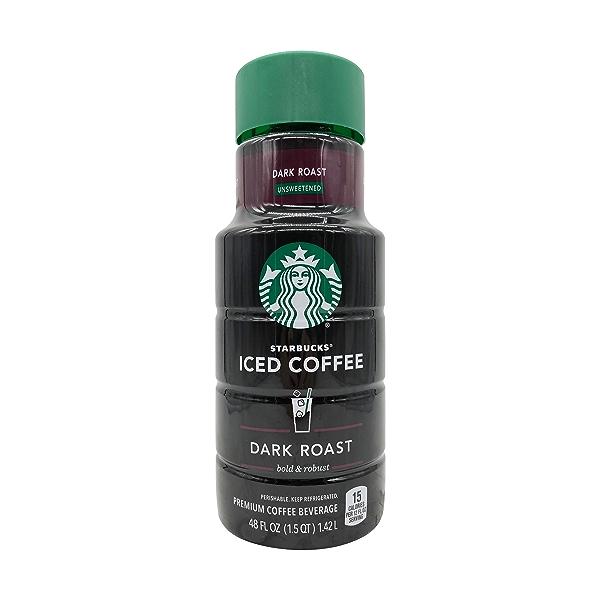 Dark Roast Iced Coffee, 48 fl oz 1