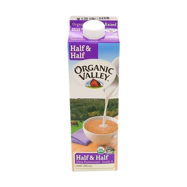 Organic Half & Half, 1 quart 1