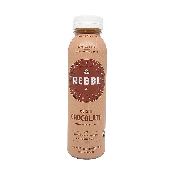 Reishi Chocolate With Coconut Milk, 12 fl oz 1