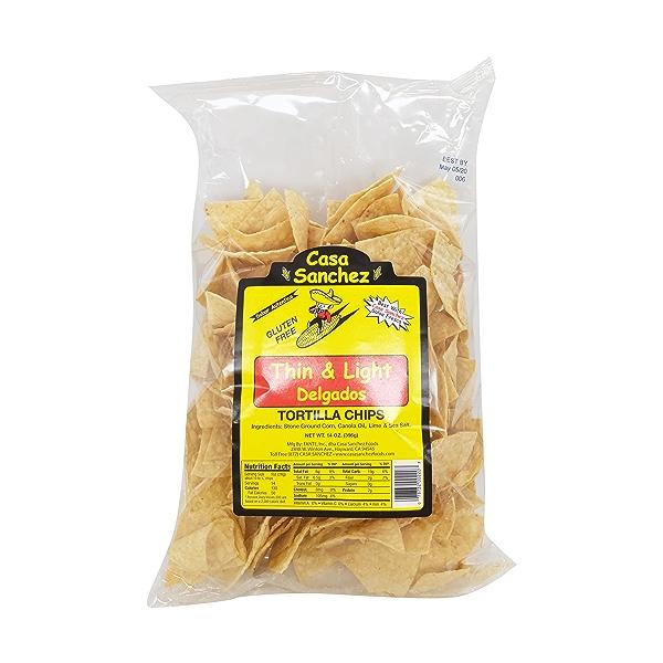 Thin & Light Tortilla Chips, 14 oz 2