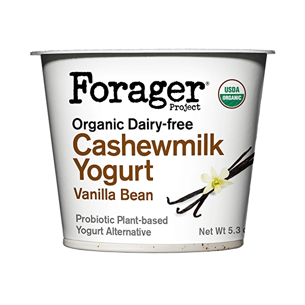 Organic Dairy-Free Vanilla Bean Cashewmilk Yogurt, 5.3 ounce 1