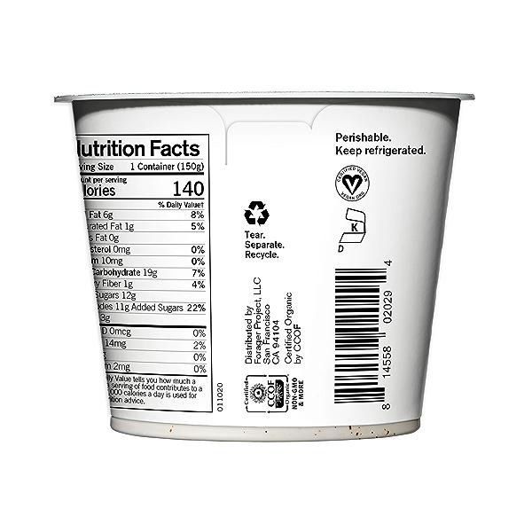 Organic Dairy-Free Vanilla Bean Cashewmilk Yogurt, 5.3 ounce 3