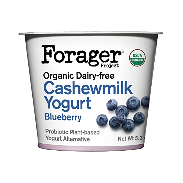 Organic Dairy-Free Blueberry Cashewmilk Yogurt, 5.3 oz 1