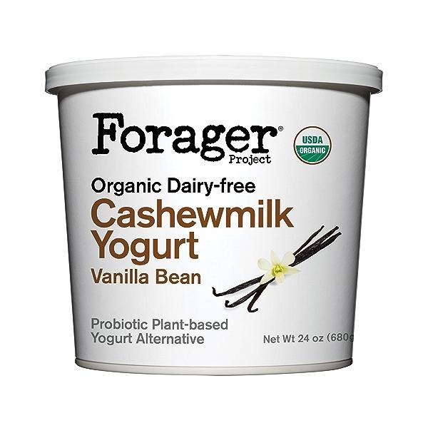 Organic Dairy-Free Vanilla Bean Cashewmilk Yogurt, 24 oz 1