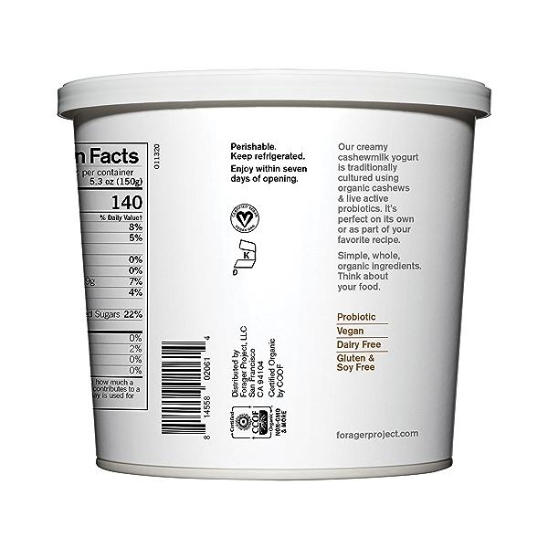 Organic Dairy-Free Vanilla Bean Cashewmilk Yogurt, 24 oz 3