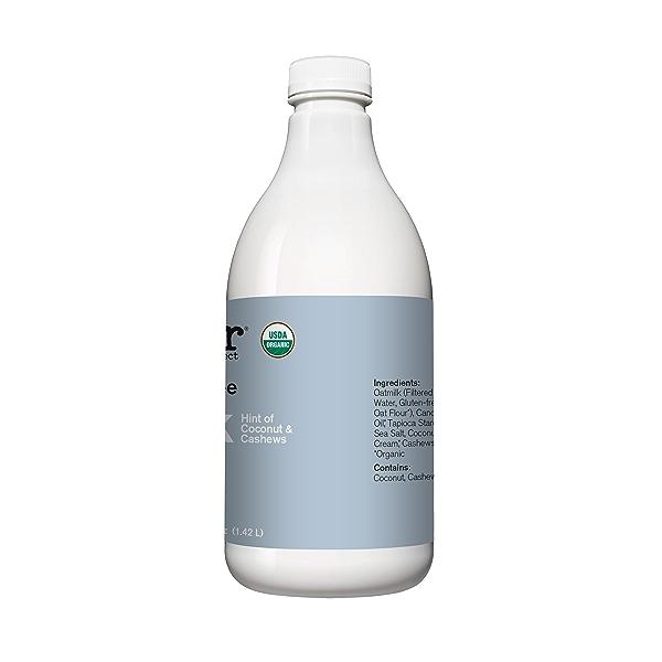 Organic Unsweetened Oatmilk, 48 fl oz 2