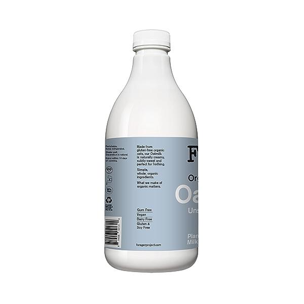 Organic Unsweetened Oatmilk, 48 fl oz 3