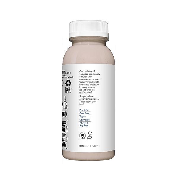Organic Dairy-Free Blueberry Probiotic Drinkable Cashewmilk Yogurt, 8 fl oz 3