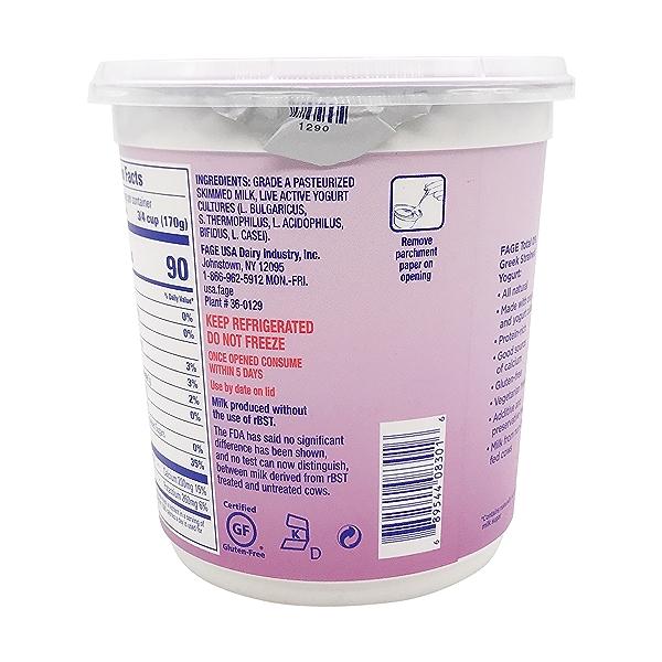 Total 0% Plain Greek Yogurt, 35.3 oz 2