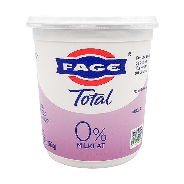 Total 0% Plain Greek Yogurt, 35.3 oz 1