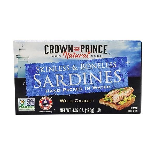 Skinless Boneless Sardines In Water 1