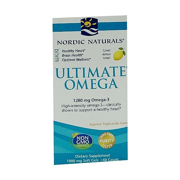 Ultimate Omega 1280mg Omega-3, 60 count 1