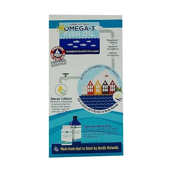 Ultimate Omega 1280mg Omega-3, 60 count 4