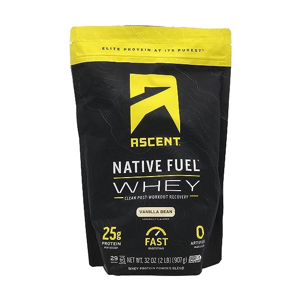 Vanilla Whey Protein, 32 oz 1