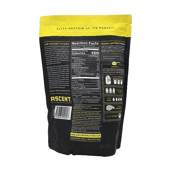 Vanilla Whey Protein, 32 oz 2