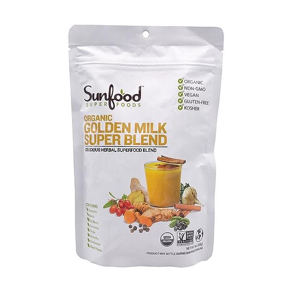 Organic Golden Milk Super Blend, 6 oz 1