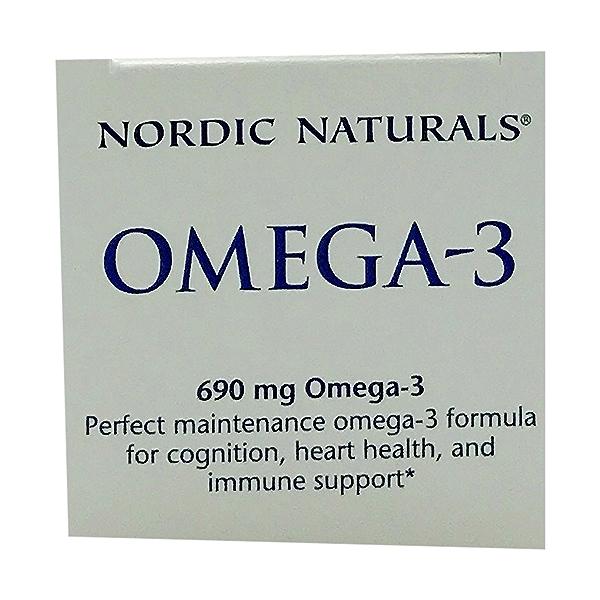Lemon Taste Omega-3 1000mg, 60 count 5