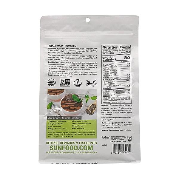 Organic Chia Seed Powder 2