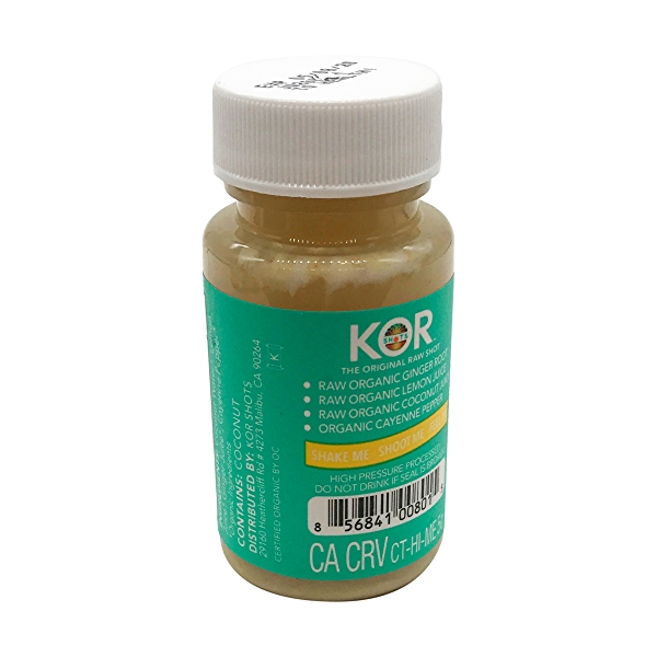 Organic Wellness Ginger Shot, 1.7 fl oz 3