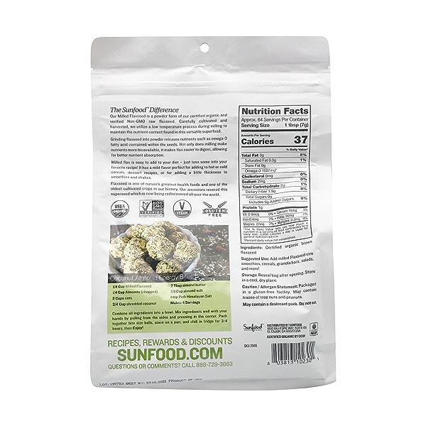 Organic Milled Flax Seeds 2