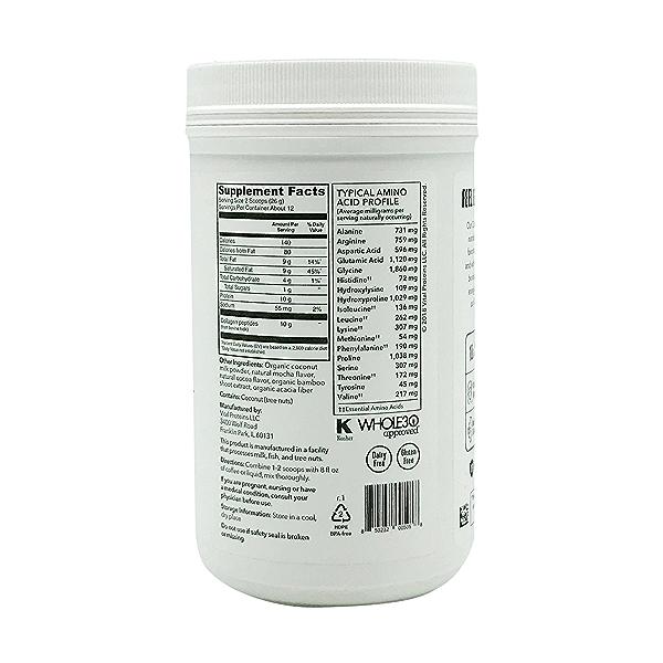 Mocha Collagen Creamer, 11.2 oz 2