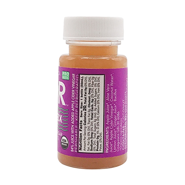 Organic Gut Check Shot, 1.7 fl oz 2