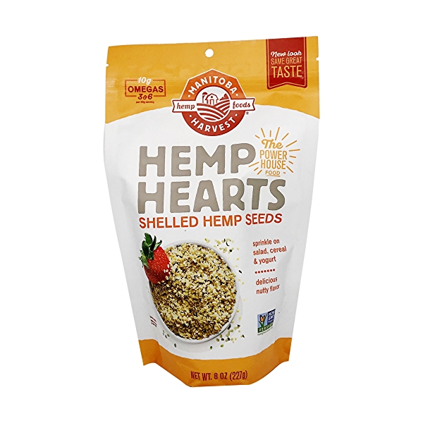 Natural Hemp Hearts, 8 oz 1