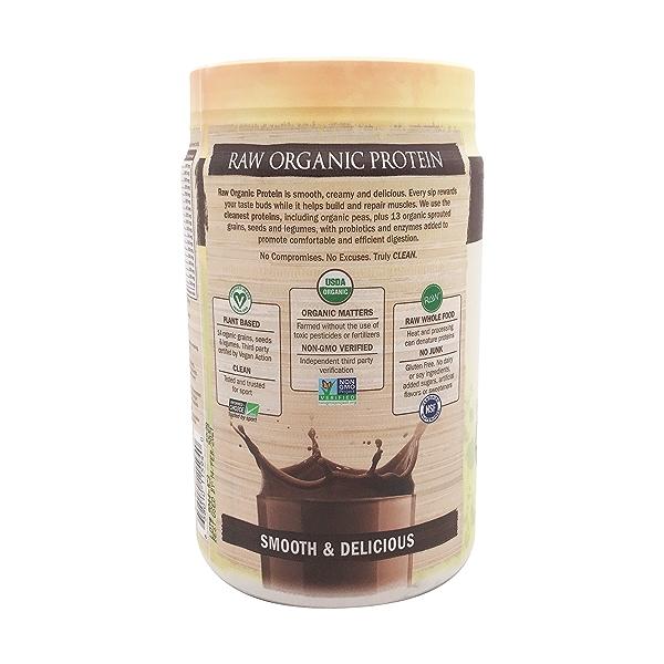 Chocolate Raw Organic Protein, 23.28 oz 4