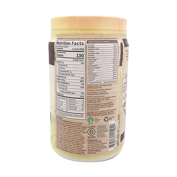 Chocolate Raw Organic Protein, 23.28 oz 2