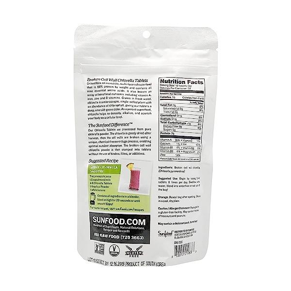 Chlorella Tablets, 4 oz 2