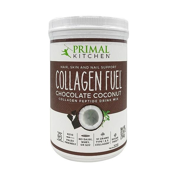 Chocolate Coconut Collagen Protein, 13.89 oz 1