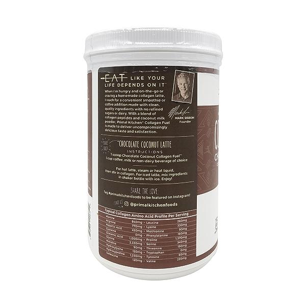 Chocolate Coconut Collagen Protein, 13.89 oz 3