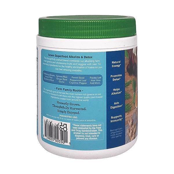Alkalize & Detox Green Superfood, 8.5 oz 3