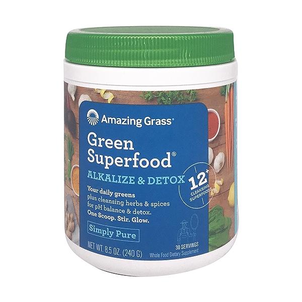 Alkalize & Detox Green Superfood, 8.5 oz 1