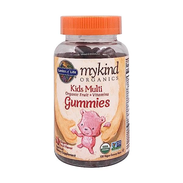 Organic Mykind Kids Multi Gummies Fruit, 120 vegan gummy bears 1