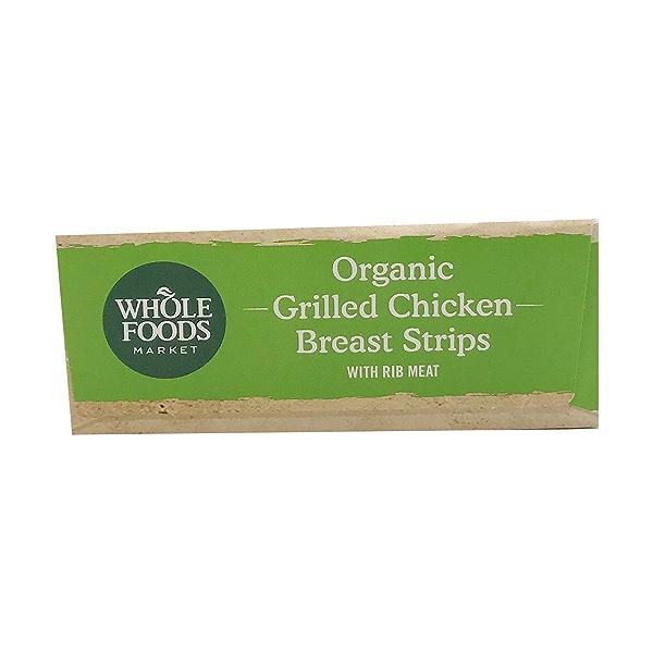 Organic Grilled Chicken Breast Strips 1