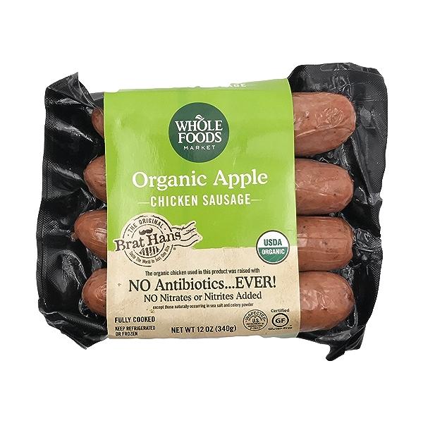 Organic Apple Chicken Sausage 1