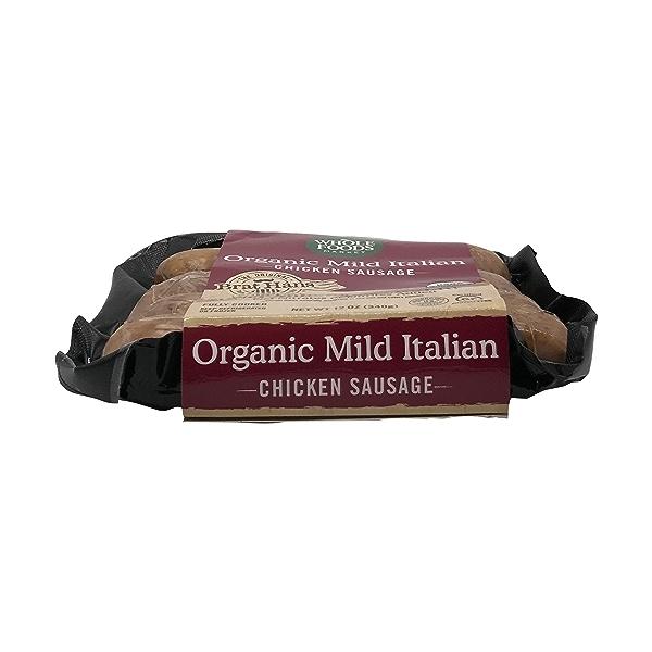 Organic Mild Italian Chicken Sausage 2