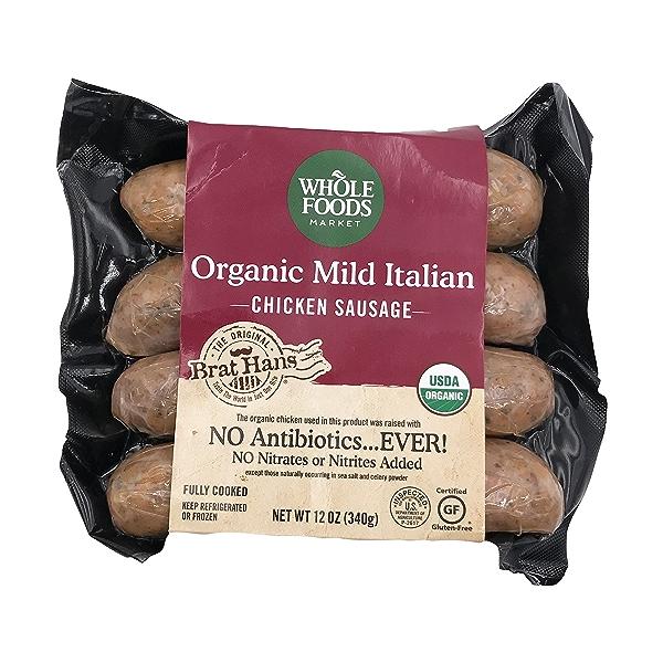 Organic Mild Italian Chicken Sausage 1