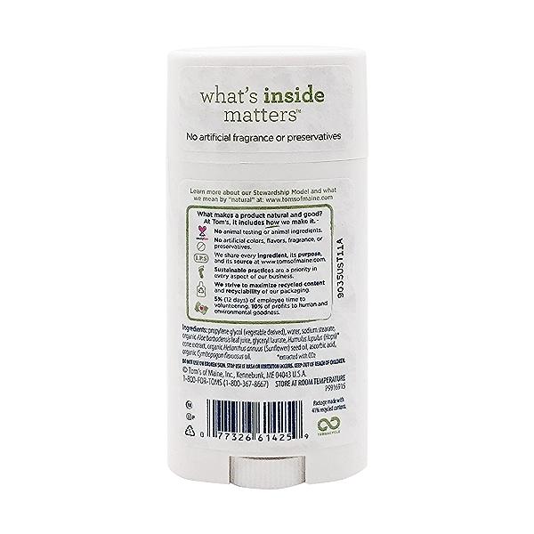 Unscented Deodorant, 2.25 oz 2