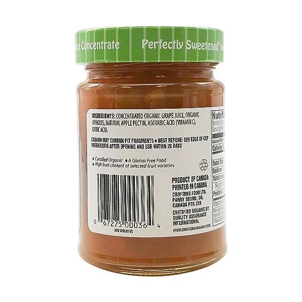 Organic Apricot Fruit Spread, 10 oz 3