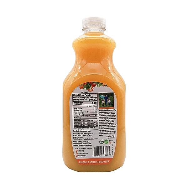 Organic Pulp Free Orange Juice, 52 fl oz 2