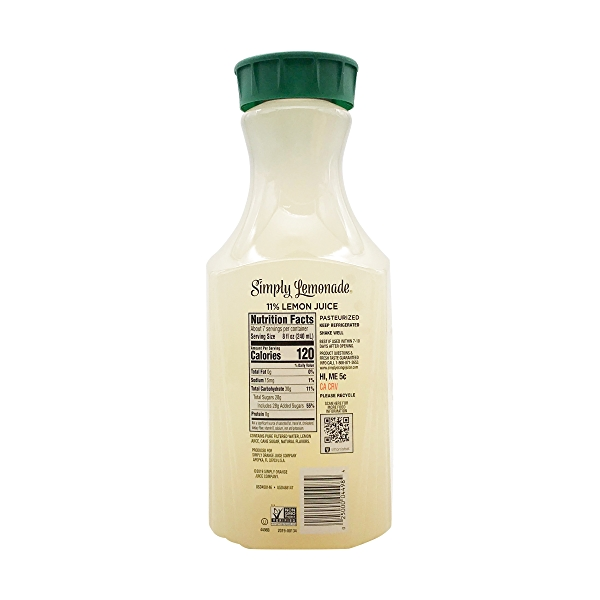 All Natural Lemonade, 52 fl oz 2