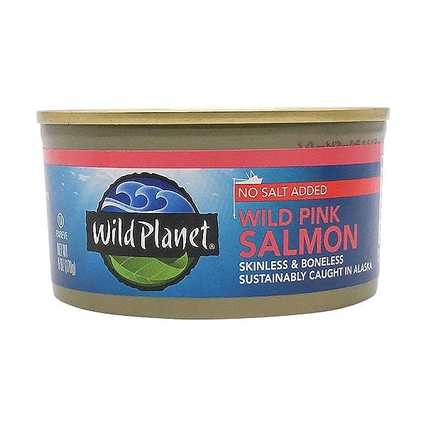 Boneless & Skinless Wild Alaska Pink Salmon 1