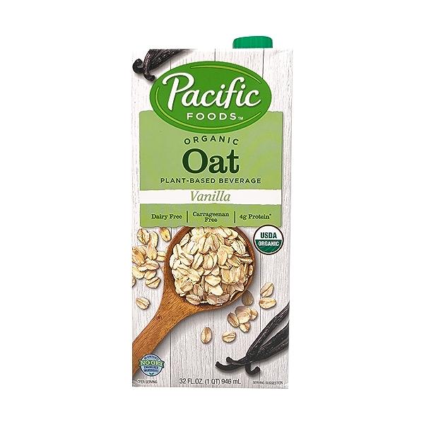 Organic Vanilla Oat Non-Dairy Beverage, 32 fl oz 1
