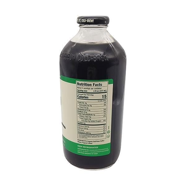 Chameleon Organic Cold-brew Black Coffee, 32 fl oz 2