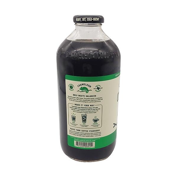 Chameleon Organic Cold-brew Black Coffee, 32 fl oz 3