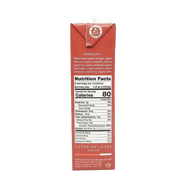 Masala Chai Tea Concentrate, 32 fl oz 2