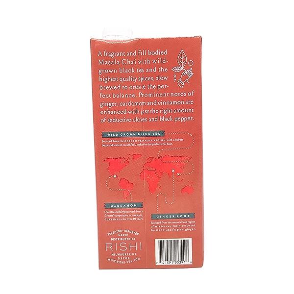 Masala Chai Tea Concentrate, 32 fl oz 3